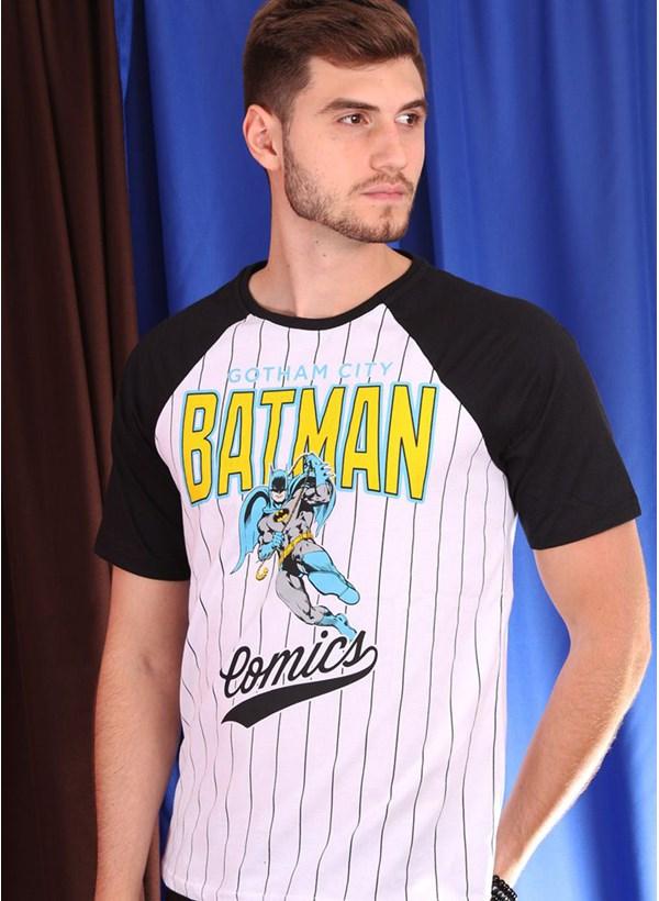 Camiseta Raglan Batman Comics