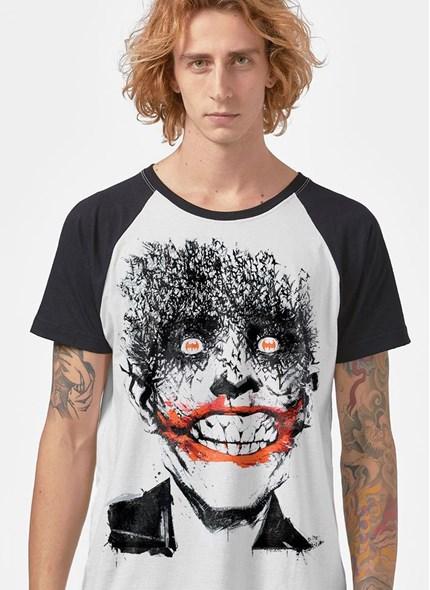 Camiseta Raglan Coringa Happy Bats