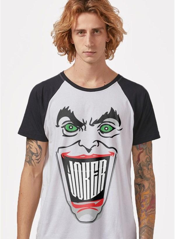 Camiseta Raglan Coringa Sorriso
