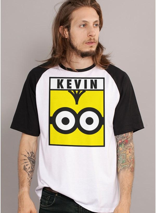Camiseta Raglan Minions Kevin