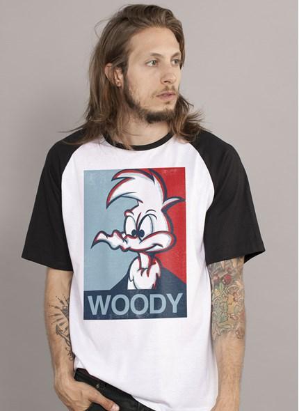 Camiseta Raglan Pica-Pau Woody