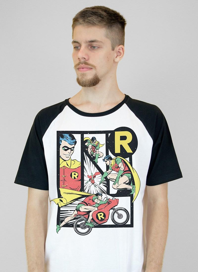 Camiseta Raglan Robin Classic