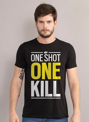 Camiseta Rainbow Six One Shot One Kill