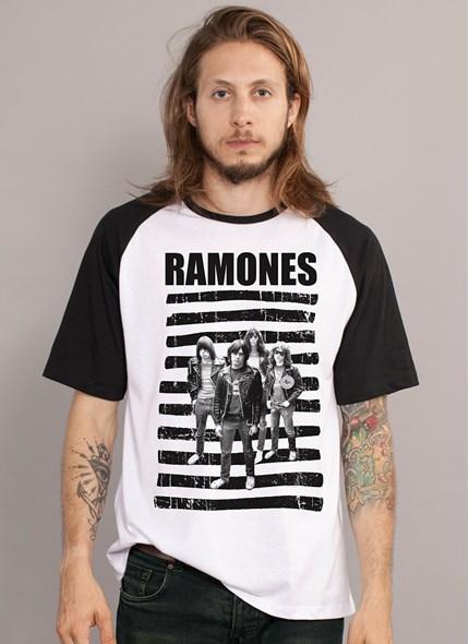Camiseta Ramones Banda