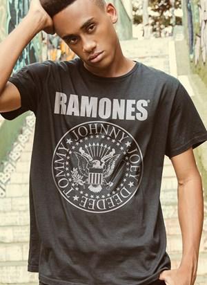 Camiseta Ramones Logo