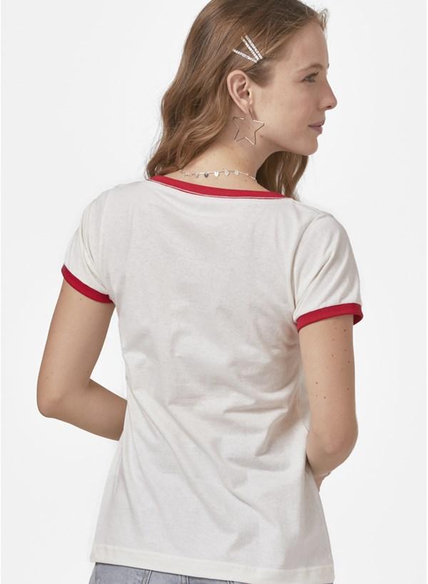 Camiseta Ringer Pica-Pau Face
