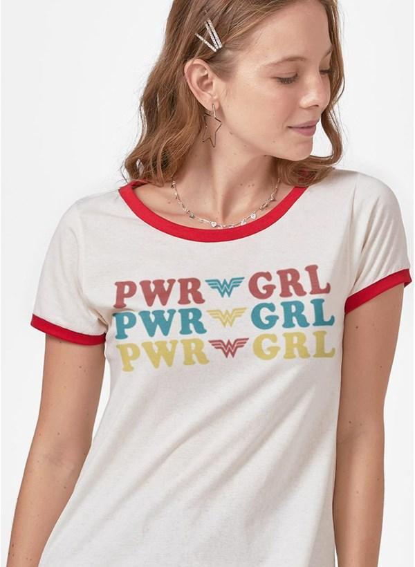 Camiseta Ringer Power Girl