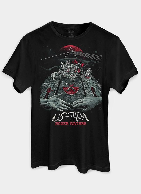 Camiseta Roger Waters Pôster