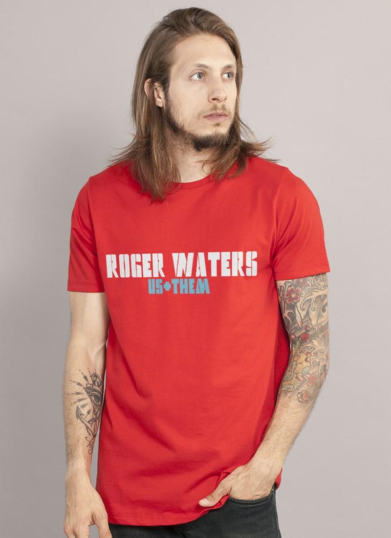 Camiseta Roger Waters US + Them Tour