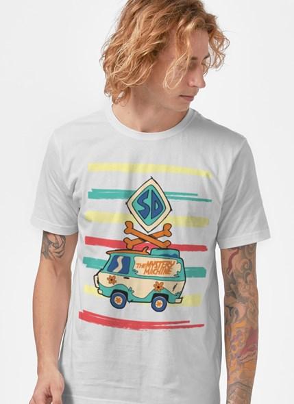 Camiseta Scooby! Máquina de Mistério Colors