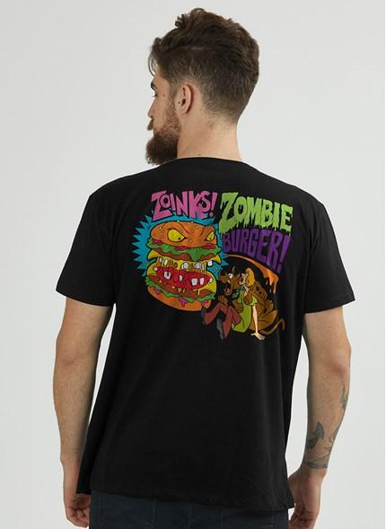 Camiseta Scooby! Zombie Burguer