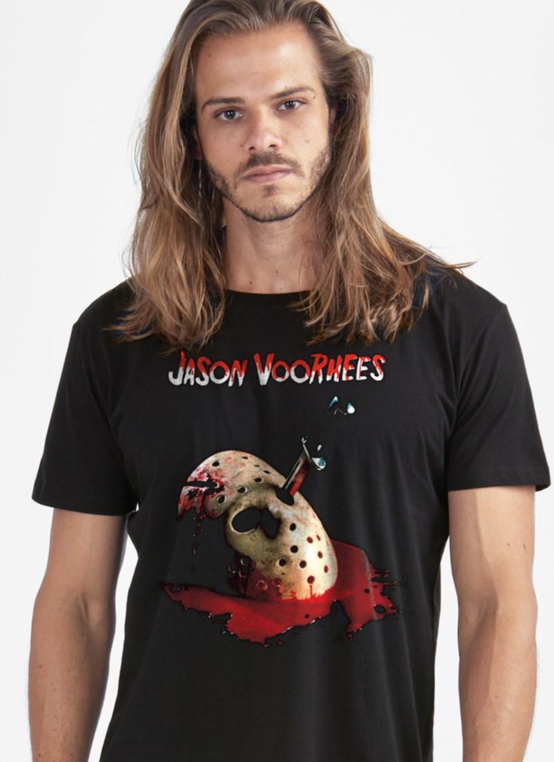 Camiseta Sexta-Feira 13 Jason Mask