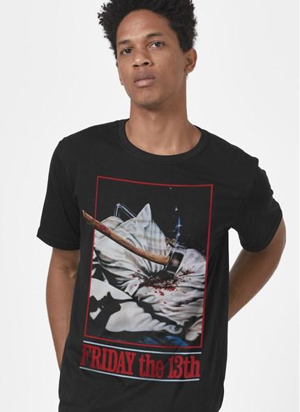 Camiseta Sexta-Feira 13 Machado