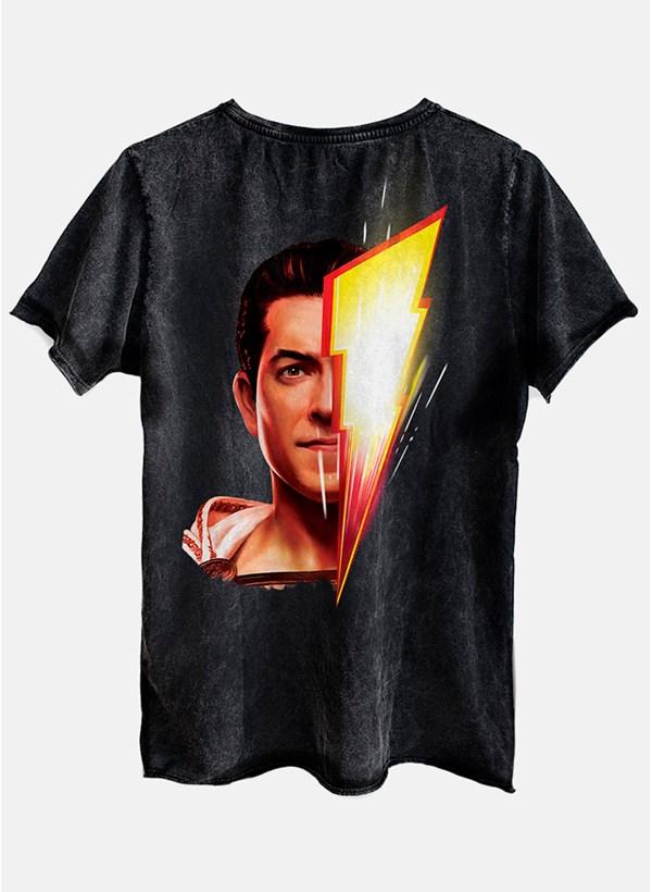 Camiseta Shazam Face