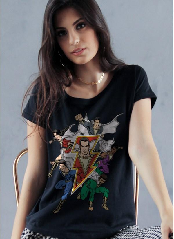 Camiseta Shazam Família