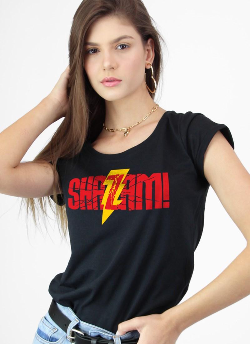 Camiseta Shazam Logo