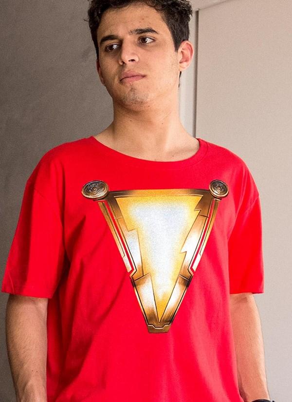 Camiseta Shazam Logo Movie
