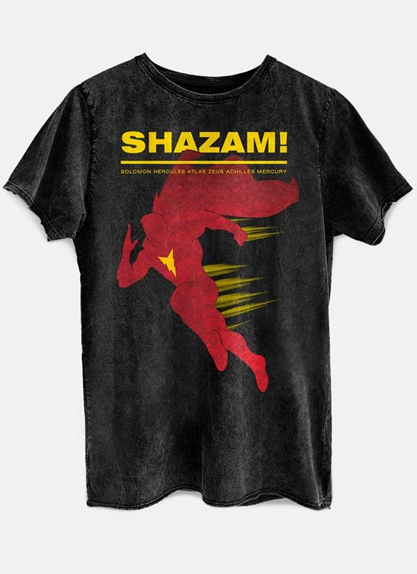 Camiseta Shazam Name