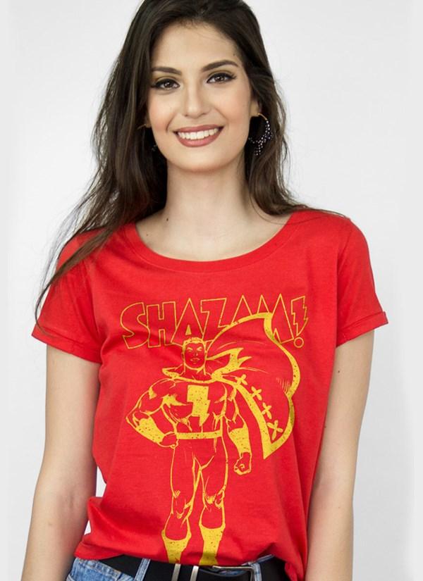 Camiseta Shazam Silhouette