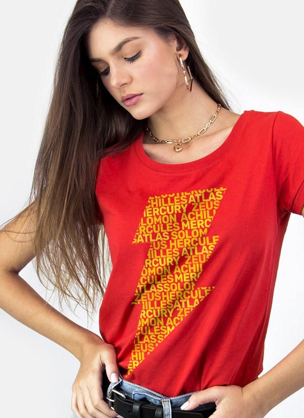 Camiseta Shazam Thunder