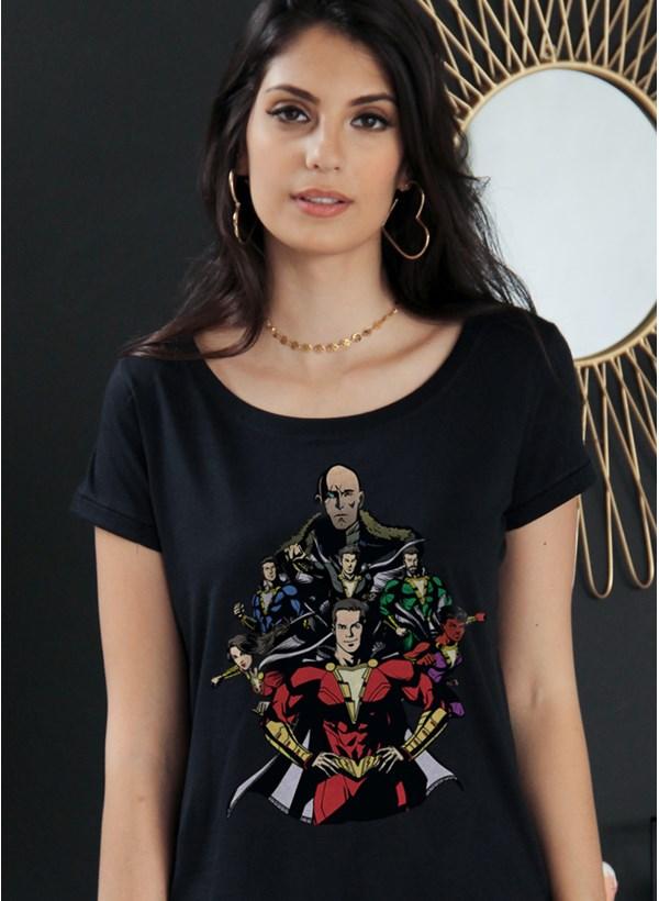 Camiseta Shazam VS Doctor Sivana