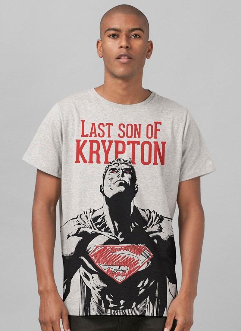 Camiseta Superman Last Son of Krypton