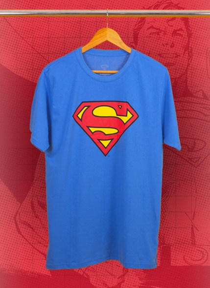 Camiseta Superman Logo Oficial