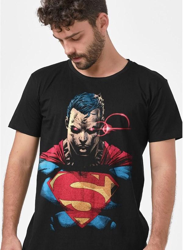 Camiseta Superman Vision X-Ray Colors