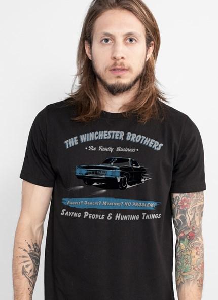 Camiseta Supernatural Car