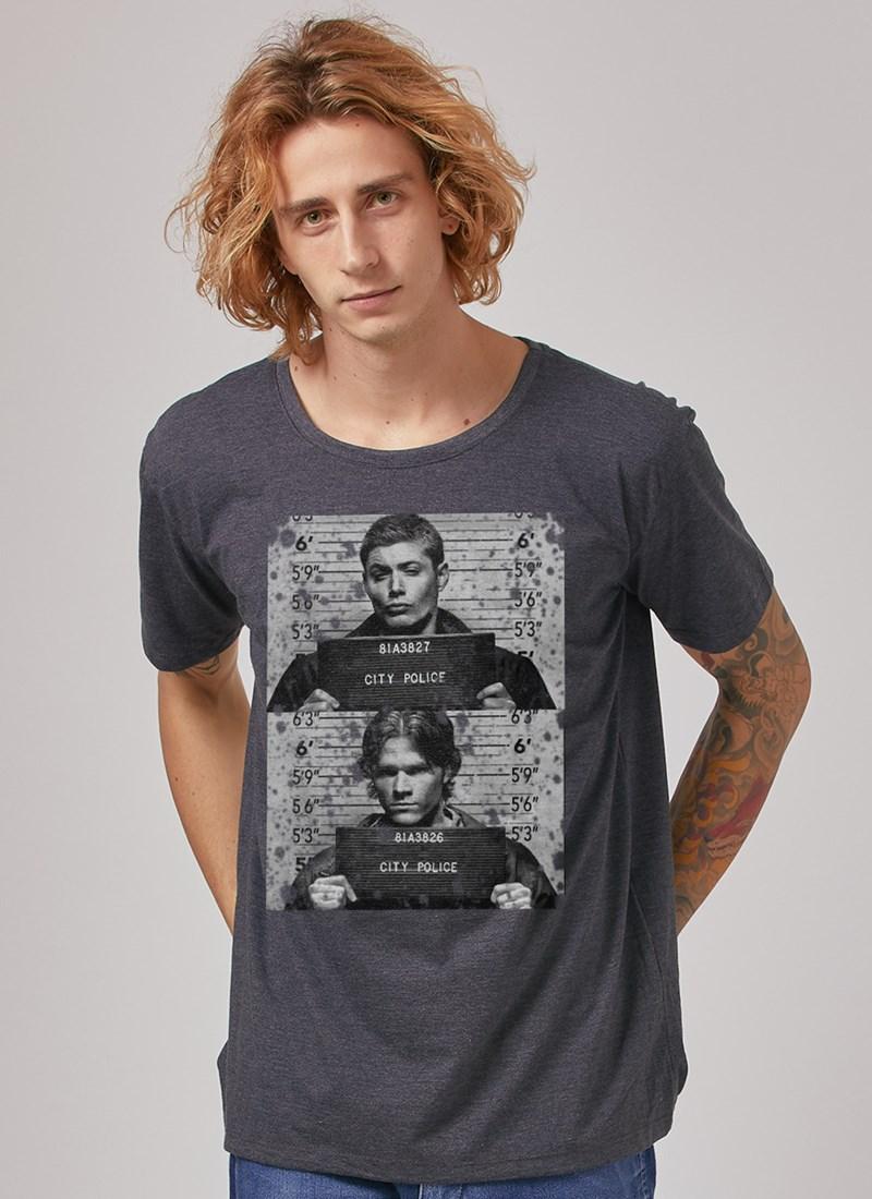 Camiseta Supernatural City Police