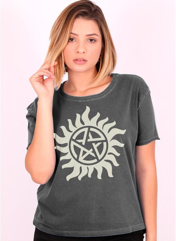Camiseta Supernatural Logo