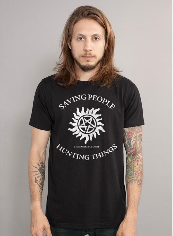 Camiseta Supernatural Saving People