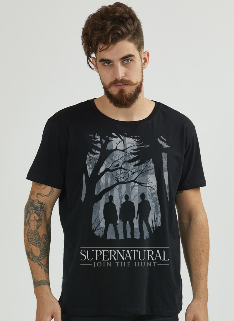 Camiseta Supernatural Sombras
