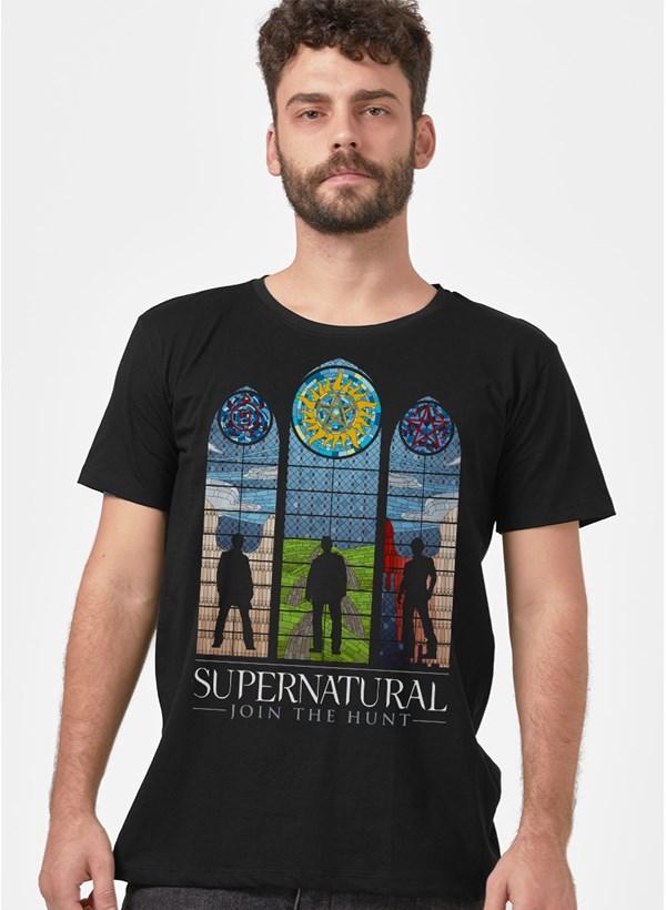 Camiseta Supernatural Vitrais