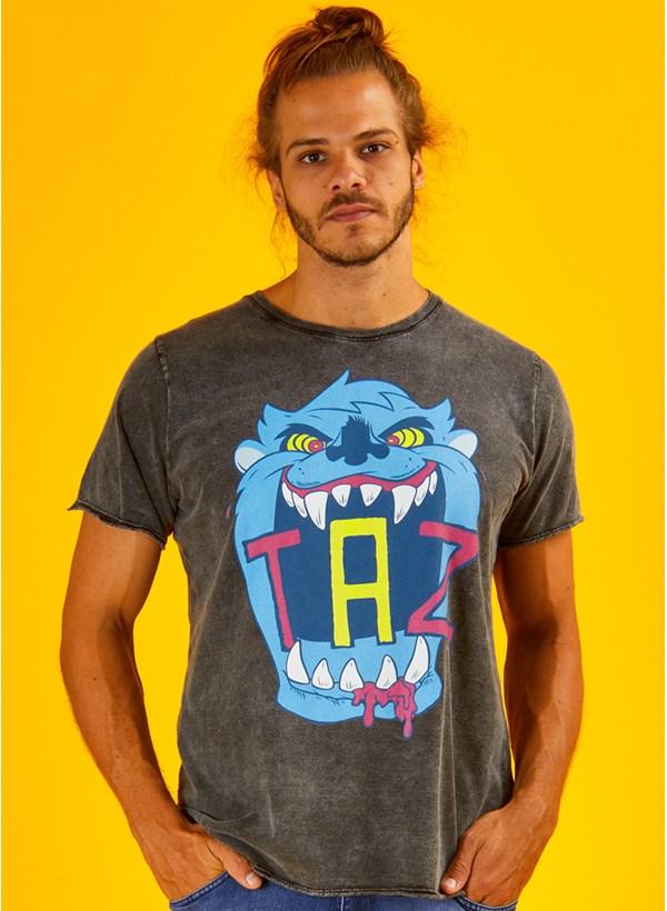 Camiseta Taz Neon Danger