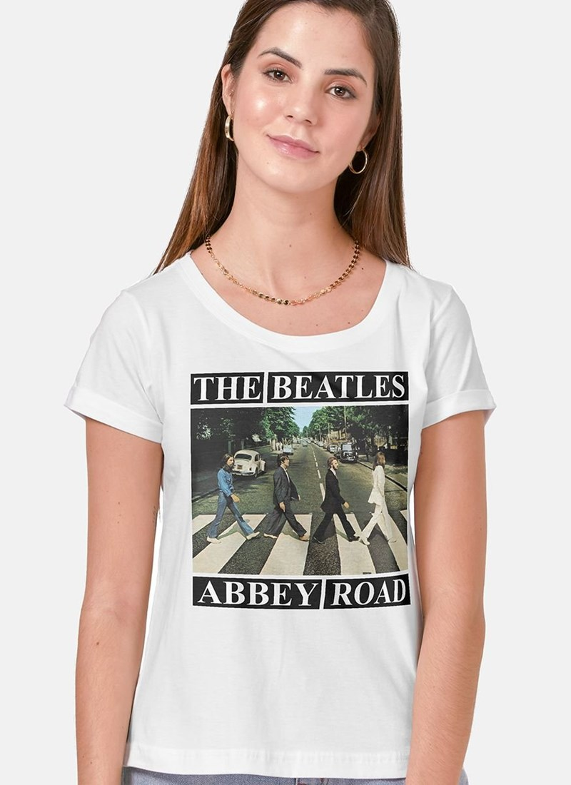 Camiseta The Beatles Abbey Road Capa