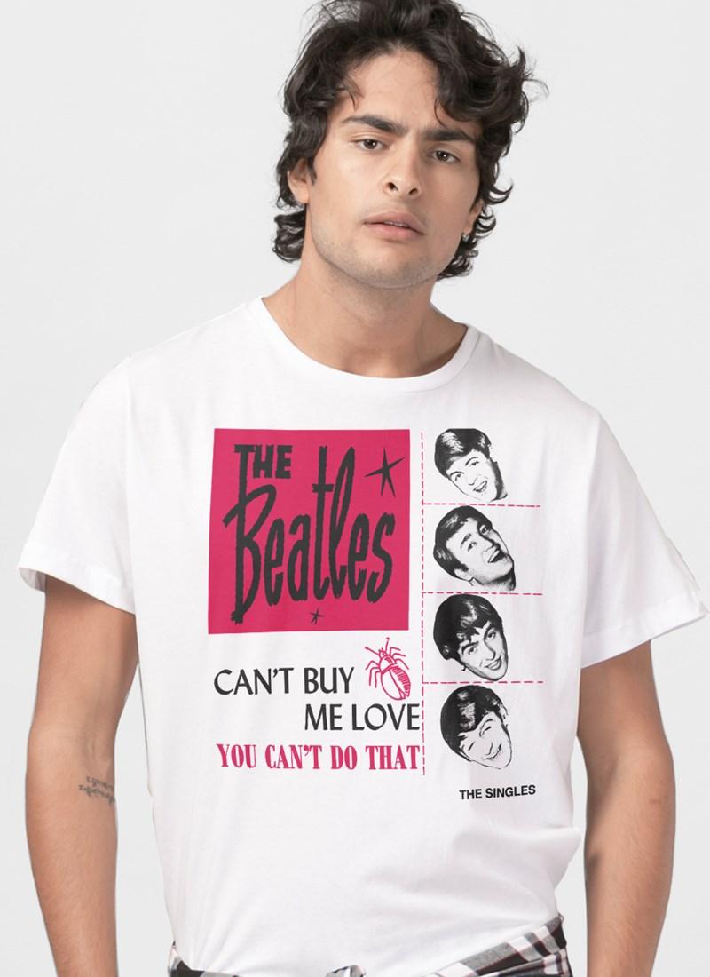 Camiseta The Beatles Cant Buy Me Love