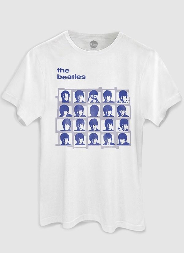 Camiseta The Beatles Hard Day´s Night Blue Basic