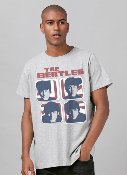 Camiseta The Beatles Hard Day´s Night England Basic