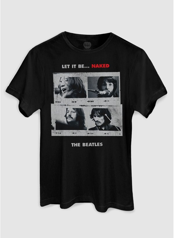Camiseta The Beatles Let It Be Naked