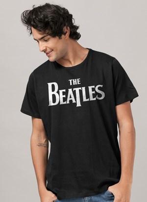 Camiseta The Beatles Logo Clássico