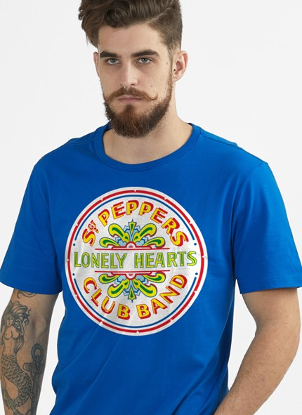 Camiseta The Beatles Sgt Pepper's Club Band and The Lonely Hearts