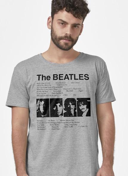 Camiseta The Beatles Song List
