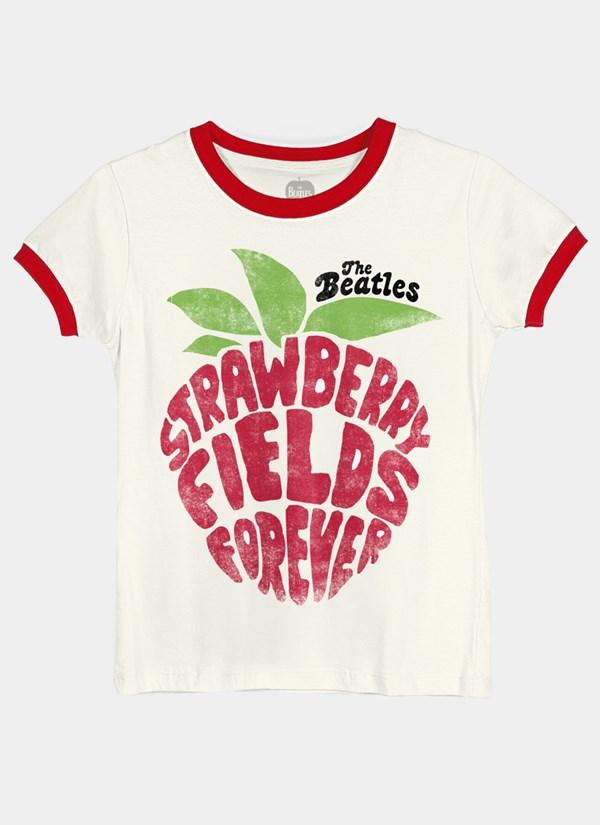 Camiseta The Beatles Strawberry Fields Forever