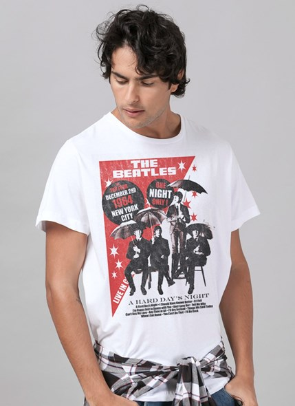 Camiseta The Beatles The Fab Four 1964