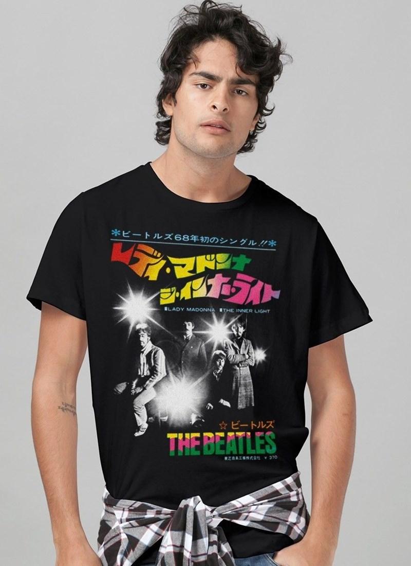 Camiseta The Beatles The Inner Ligh