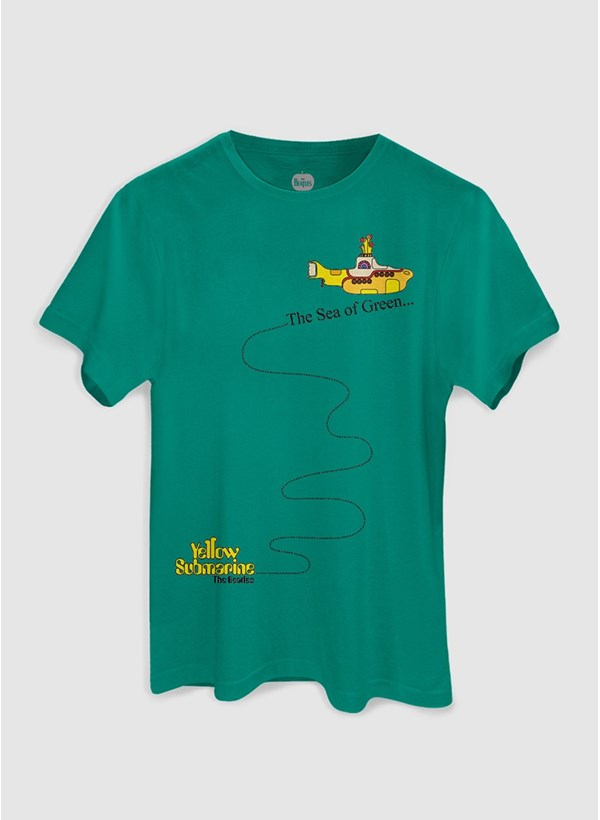 Camiseta The Beatles The Sea of Green