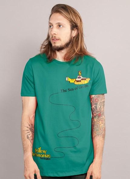 Camiseta The Beatles The Sea of Green