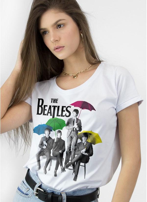 Camiseta The Beatles Umbrella Colors