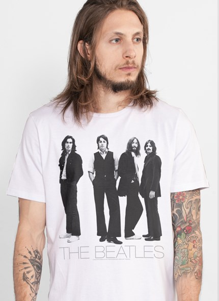 Camiseta The Beatles White Album Basic